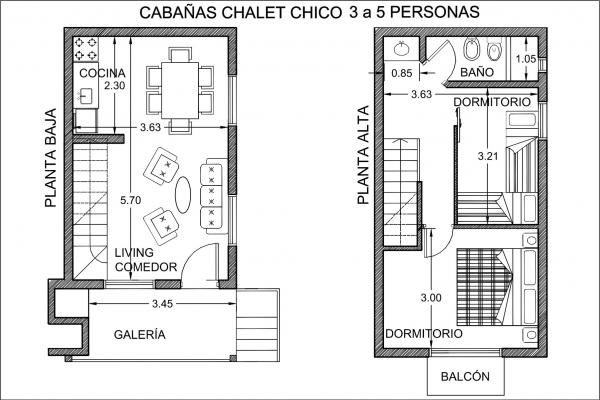 Chalet Mediano